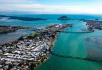 Tauranga City Centre with Harbour